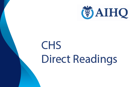Direct Readings for Certified Hospital Surveyor (CHS)