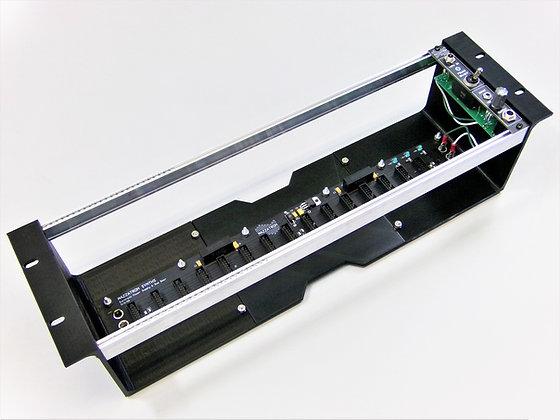Eurorack Modular Synth Powered Rackmount Case w/ Power Entry Panel & Brick