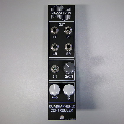Quadraphonic Controller Eurorack Module