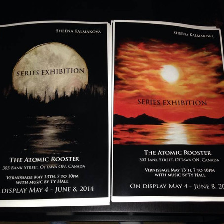 SERIES Exhibition at The Atomic Rooster