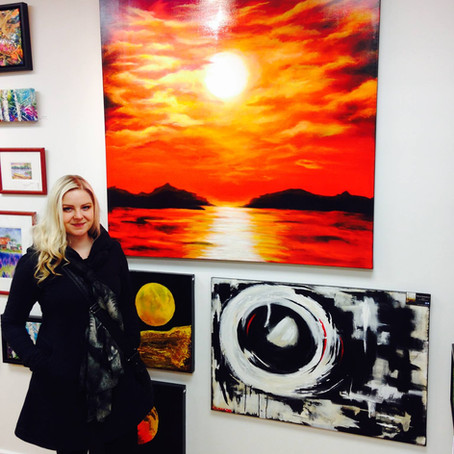 Exhibiting at Kevin Dodds Gallery in Ottawa