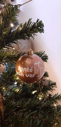 Kerstbal - 8 cm