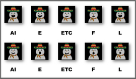 Phonemes | Latin Snowman