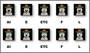 Phonemes   Latin Snowman