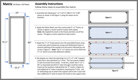 Construction Sheet 2   Matrix Assembly