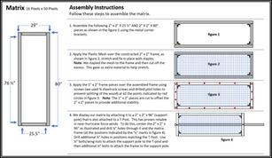 Construction Sheet 2 | Matrix Assembly
