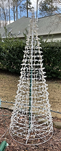 Warm White Cone Tree