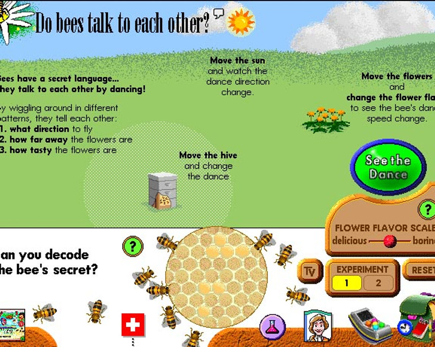 Do bees talk to each other? Vol 1.