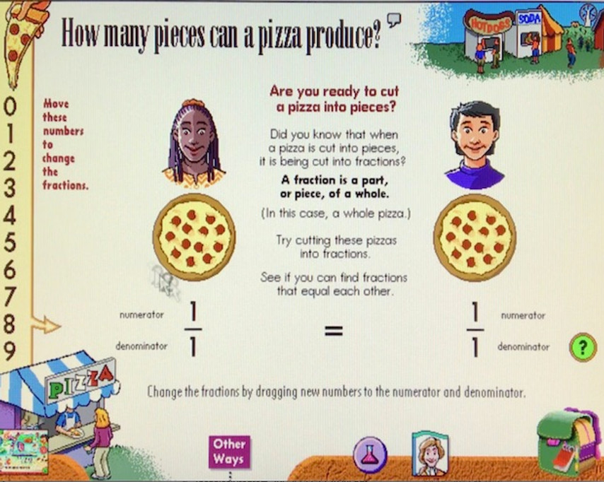 How many pieces can a pizza produce? Vol 1.