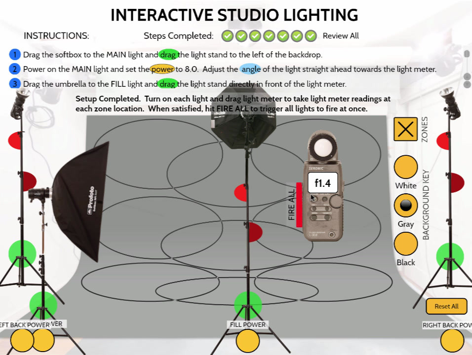 Interactive Lighting Studio