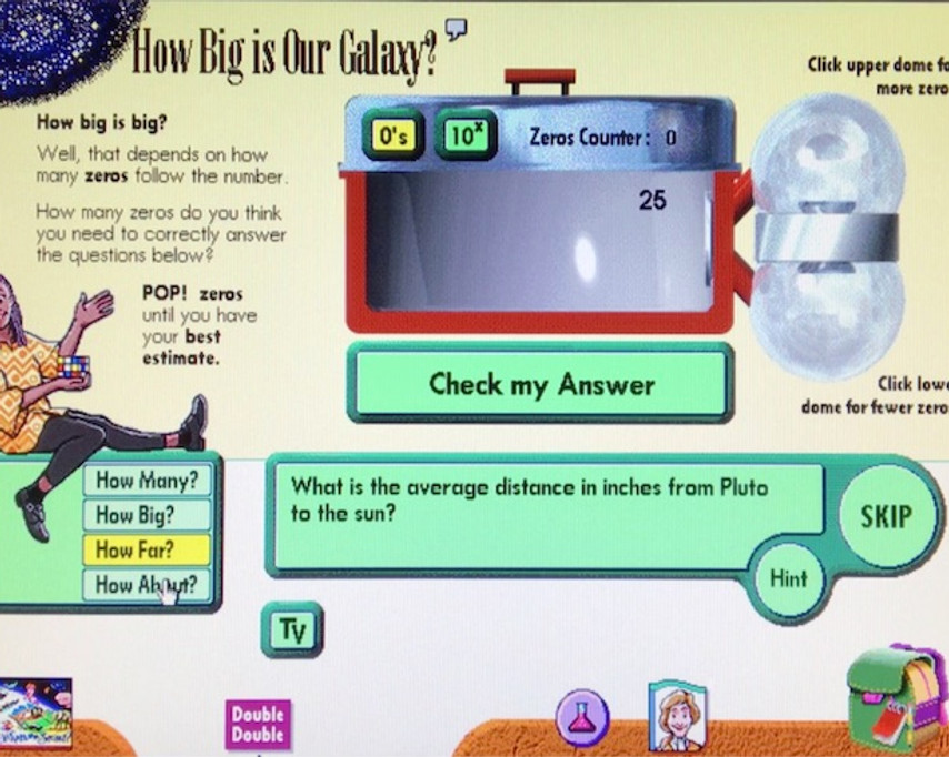 How big is our galaxy? Vol 3.