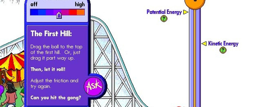 What keeps a roller coaster going? Vol 1.