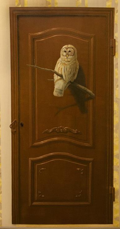 Роспись металлической двери