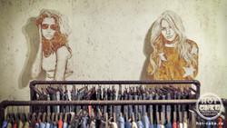 Роспись выставочного стенда