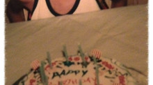 Celebrates: Birthday with Orange Sherbet