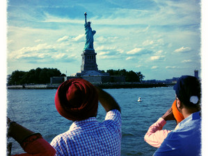 Reflects: The Statue of Liberty