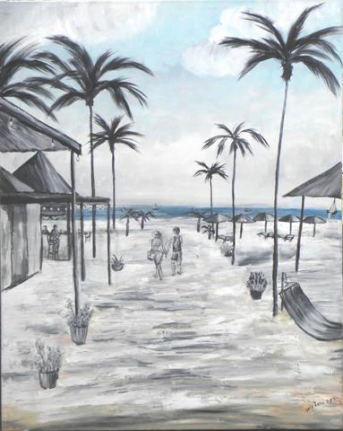 100X80 חוף במקסיקו