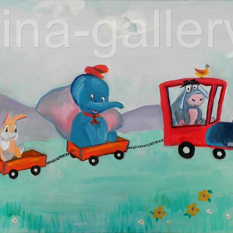 רכבת החיות
