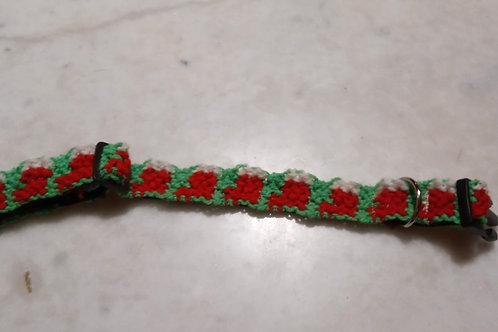 """Collier Collection Noël motif """"Chaussettes de Noël"""""""
