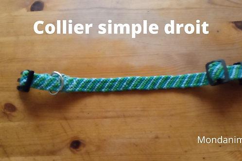 "Collier motif ""Rayures droites ou en V"""