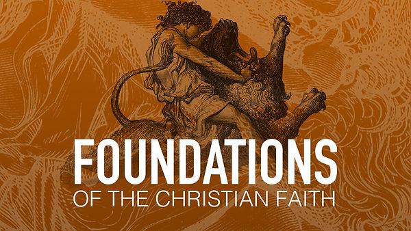 Foundations of the Christian Faith - ban