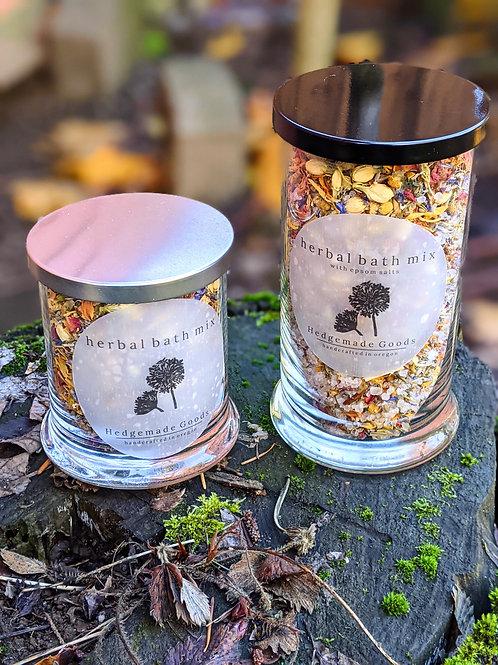 Healing Herbal Bath Mixes