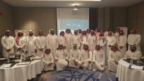 اللقاء التعريفي بالهوية المعيارية الموحدة بحضور اكثر من ٥٠ مهندس على مستوى المملكة..