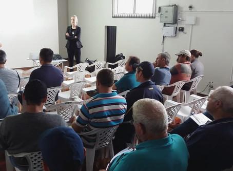 Camal e CCGL realizam treinamento do programa de Qualidade e Produtividade do Leite
