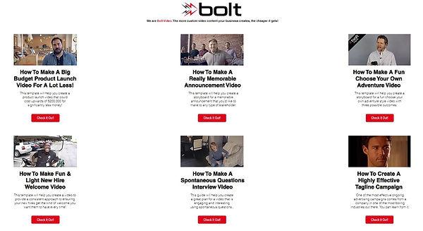 Bolt Video Idea Library.JPG