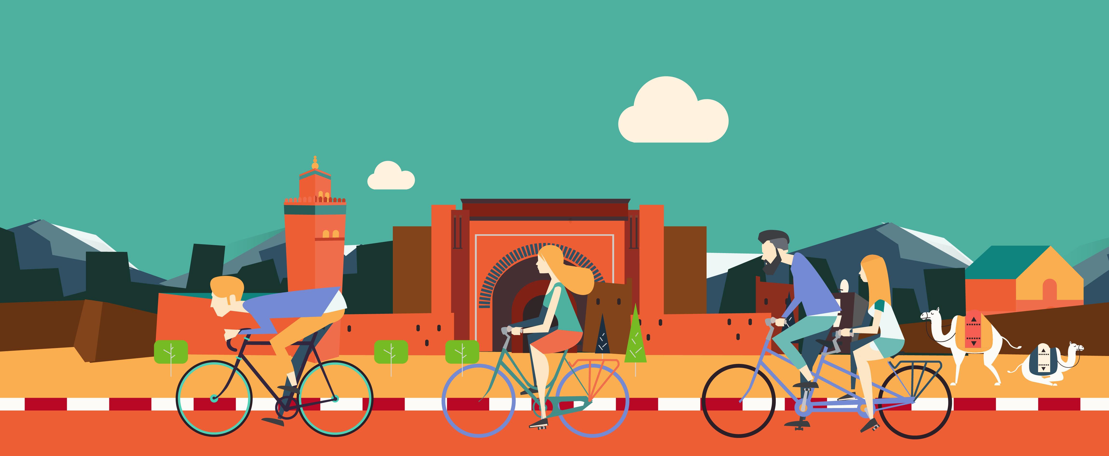 Marrakech Green Wheels - City Bike Tours in Marrakech 07514b603