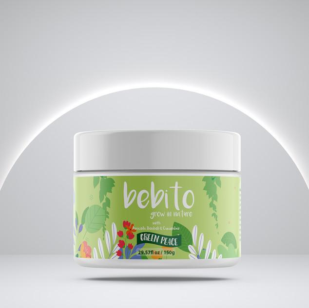 Bebito - Kids Natural body cream designe