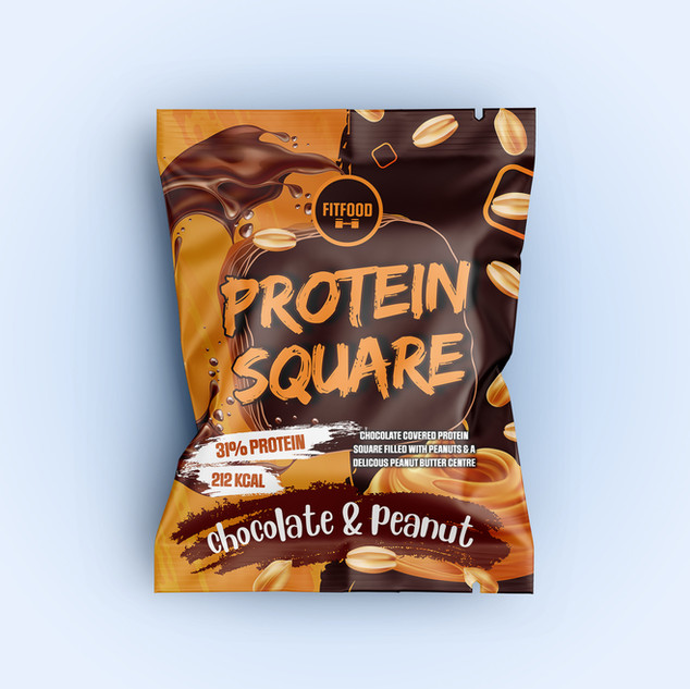 Protein Square Packaging Design by Tony
