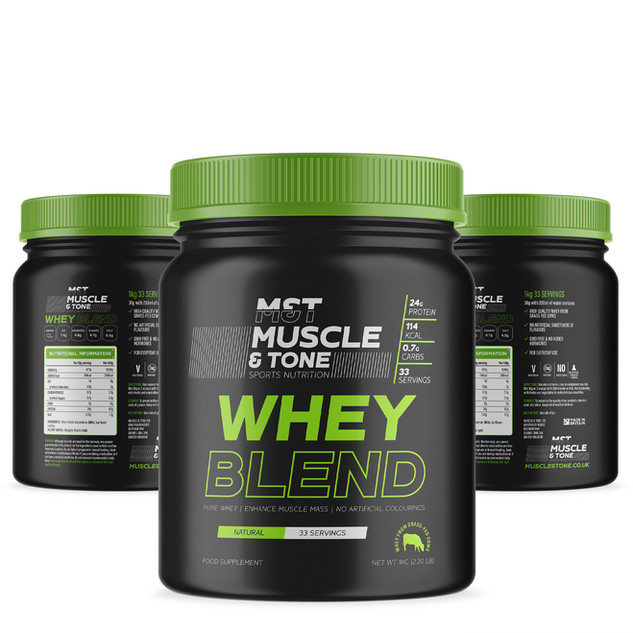 Muscle & Tone Whey Protein Supplement de