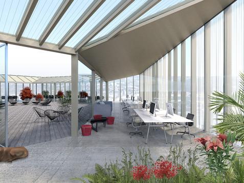 Løftet - Roof garden