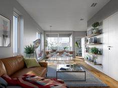 Paradis B2 - Living room