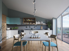 Paradis B2 - Kitchen and dining room
