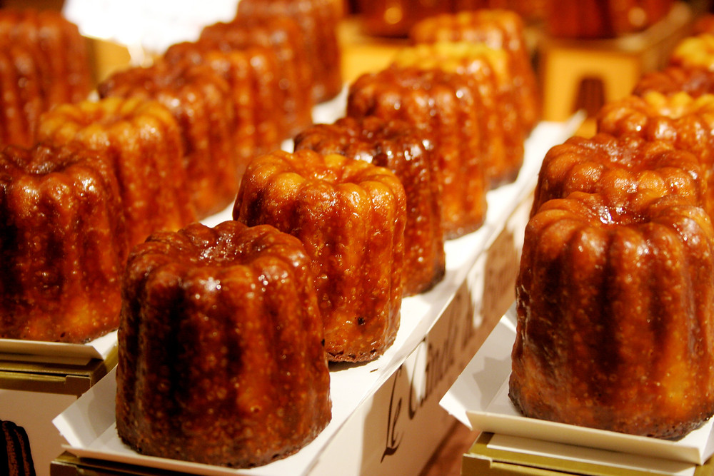 "I don't think there is a translation to ""canelé"""