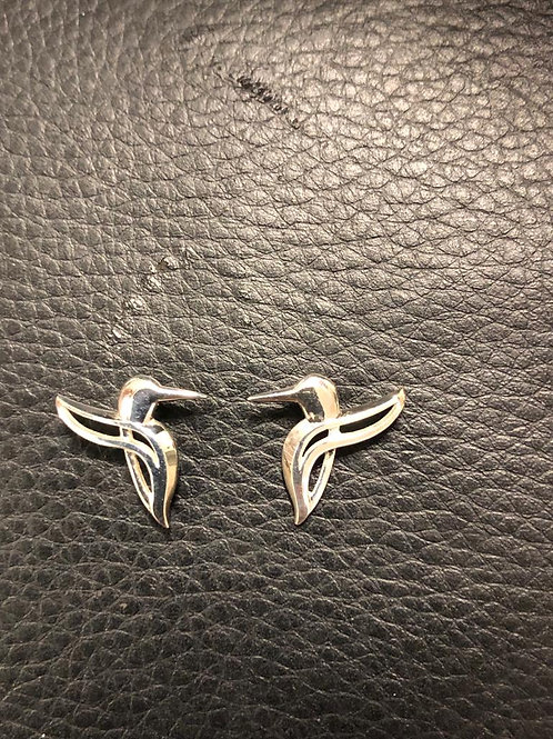 Boucles d'oreilles Colibris