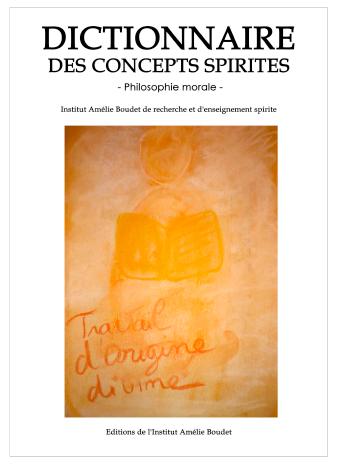 Dictionnaire des concepts spirites