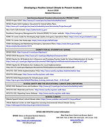 16. List of resources and website addres