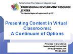 Presenting Virtual Content PARTICIPANT C