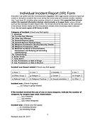 5-Individual Incident Report (IIR) Form_