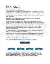 1. REMS Document ICS for schools