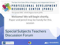 Special Subjects Teachers Forum.cleaned.