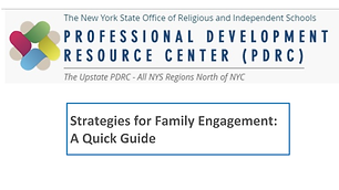 Strategies for Family Engagment_ A Quick