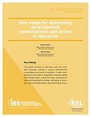Five Steps for Sctruturing Data-Informed