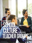 Transforming school culture through teac