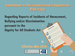 Amendment to the Commissioners Regulatio