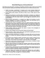 2. DASA requirements for schools - 8.10.