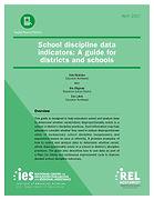 School Discipline Data Indicators- A Gui